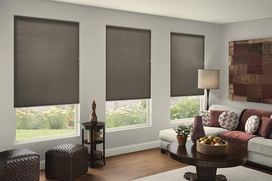Home Interiors with Blinds and Shades