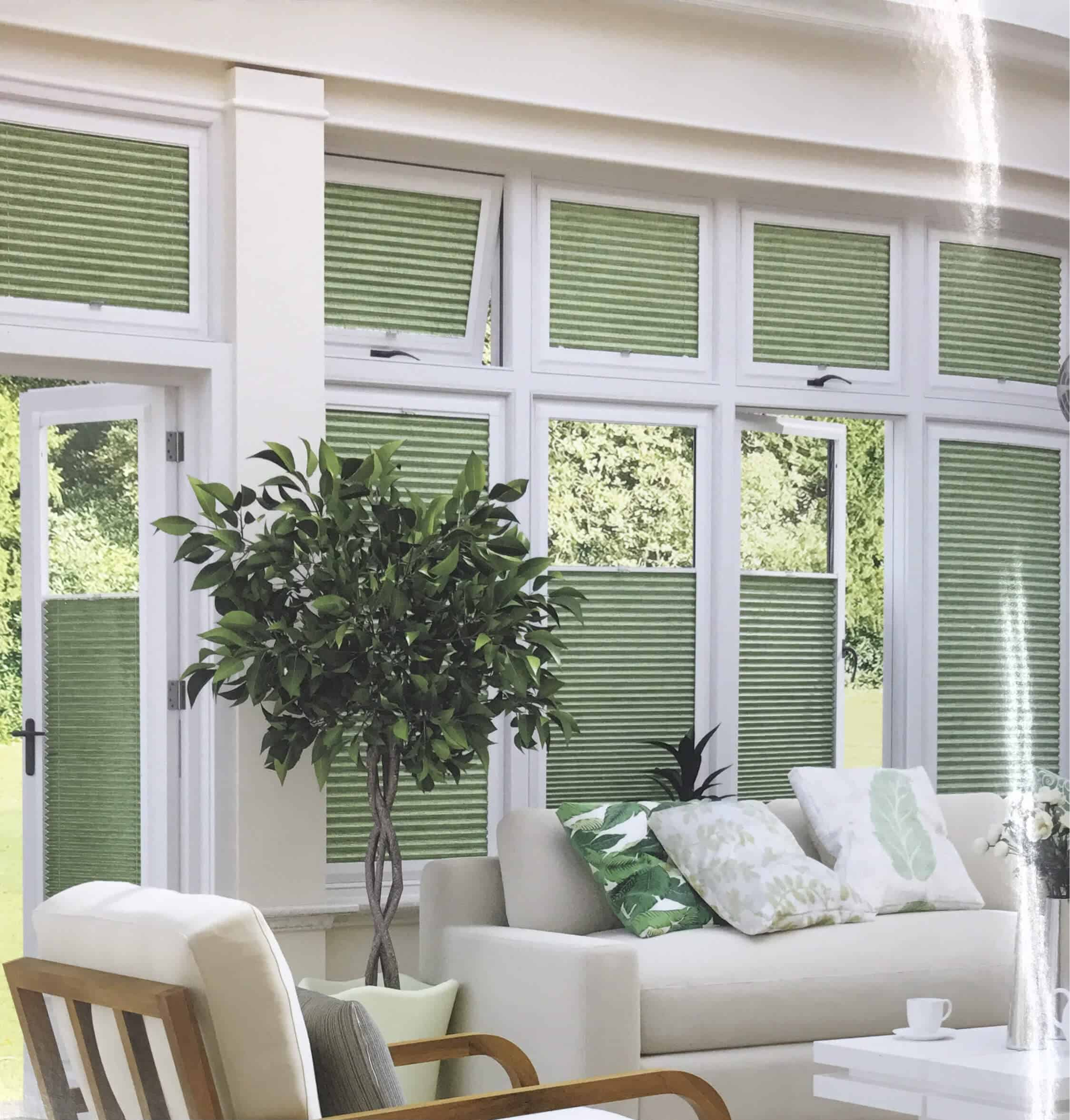 Perfect Fit Pleaded Blinds
