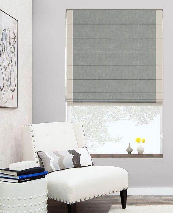 Add elegance to your home with roman blinds