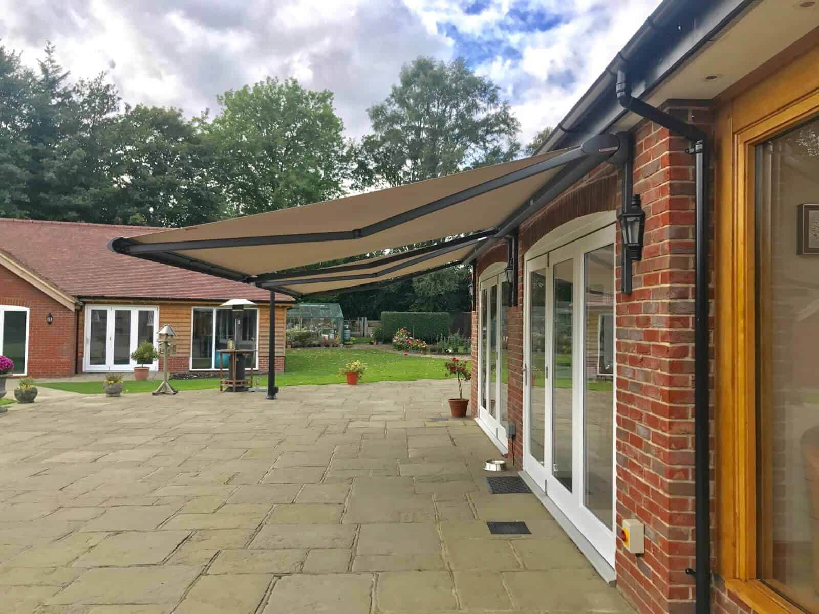 Weinor Cassita II Awning Fitted in New Forest Awningsouth Side View