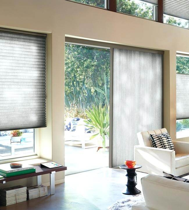 honeycomb shades with vertiglide duette duolite 1