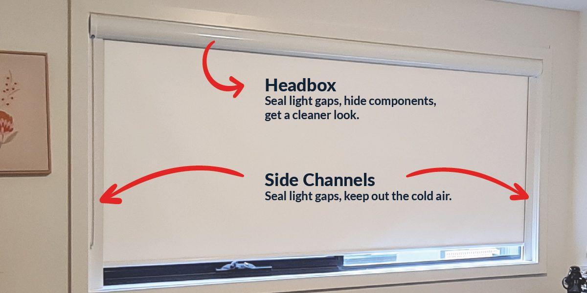 insulation options roller blinds